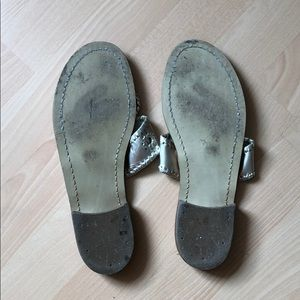 Jack Rogers Shoes - Jack Rogers Platinum Sandals - Size 7.5
